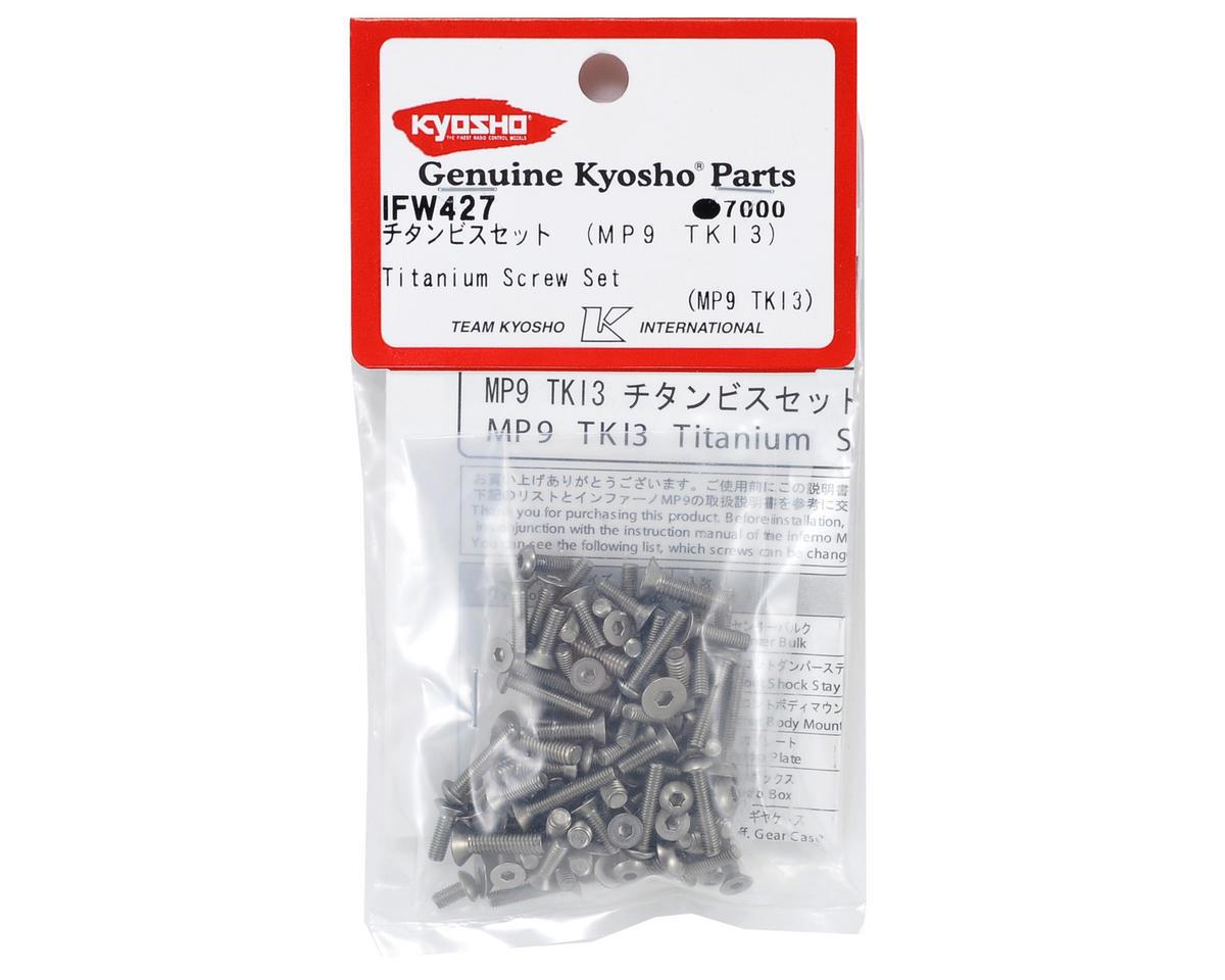 KYOIFW427 Kyosho Titanium Screw Set (TKI3 TKI4)