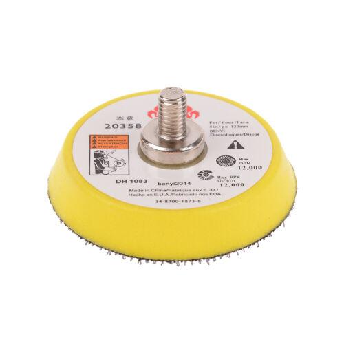 "2/"" Mix Grit Sander Disc Sanding Polish Polishing Pad fit Grinder Rotary TooRSDE"