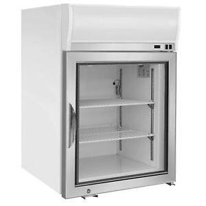 NEW-Maxx-Cold-MXM1-4F-Reach-In-Freezer-Countertop-Glass-Door-Merchandiser