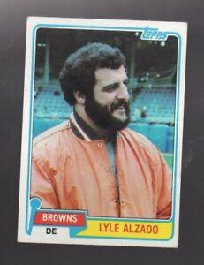1981 TOPPS LYLE ALZADO #505 CLEVELAND BROWNS   eBay