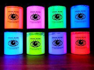 Superior Quality Fluorescent Glow Uv Colour Pigment