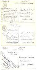 NEDERLAND S.M.N 1947   3 x PPC = S.S.JOHAN DE WITT= MILITAIR  VF