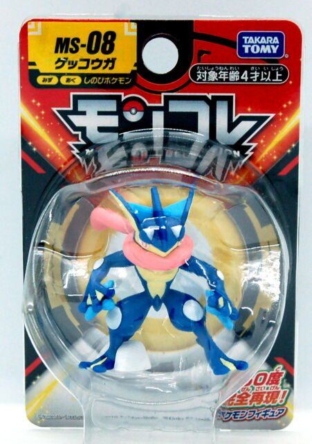 Pokemon Action Figure Boxed Tomy Toys Battle Feature Greninja Perfect Gifts