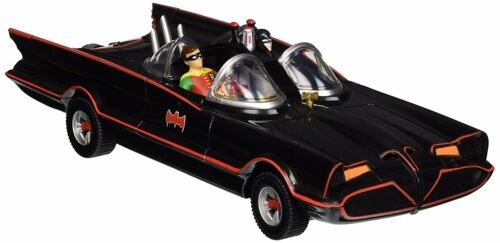 "NJ Croce 10/"" Classic TV Series Batmobile with Bendable Figures"