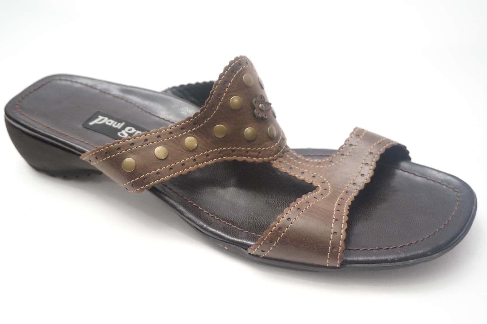 Paul vert Chaussures Chaussures Chaussures Cuir Mules Taille 42 (UK 8) Marron Bronze nature 627c70