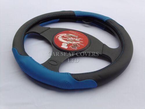 MEDIUM HONDA JAZZ STEERING WHEEL COVER SWC P24 BLUE