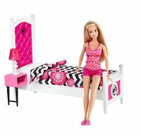 Barbie Doll And Bedroom Furniture Set on sale