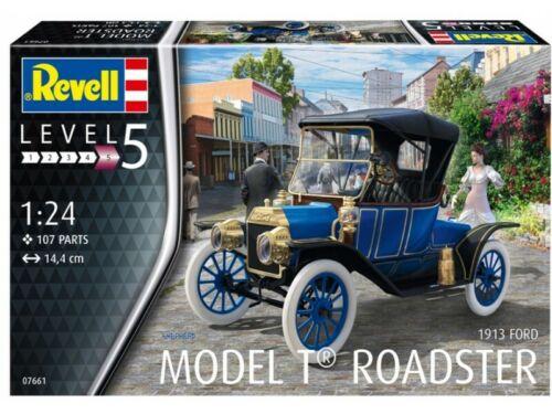 Revell 1//24 Ford T Modell Roadster 1913 modello in kit di montaggio