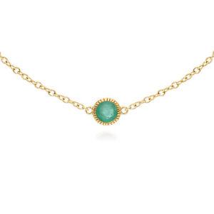 Gemondo-9ct-Yellow-Gold-Emerald-Single-Stone-Round-Milgrain-19cm-Bracelet
