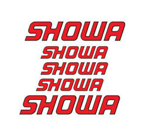 5 Adesivi HRC SHOWA Moto Gp