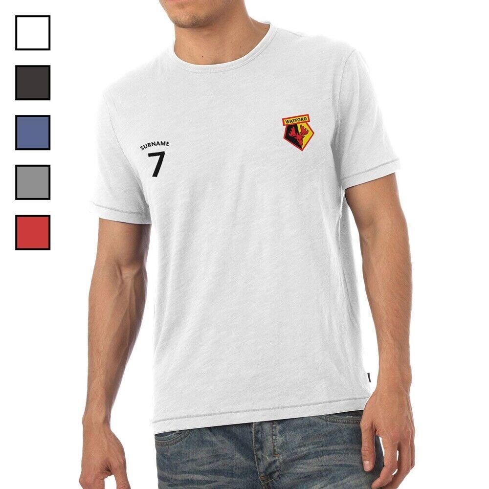 Watford F.C - Personalised Mens T-Shirt (SPORTS)