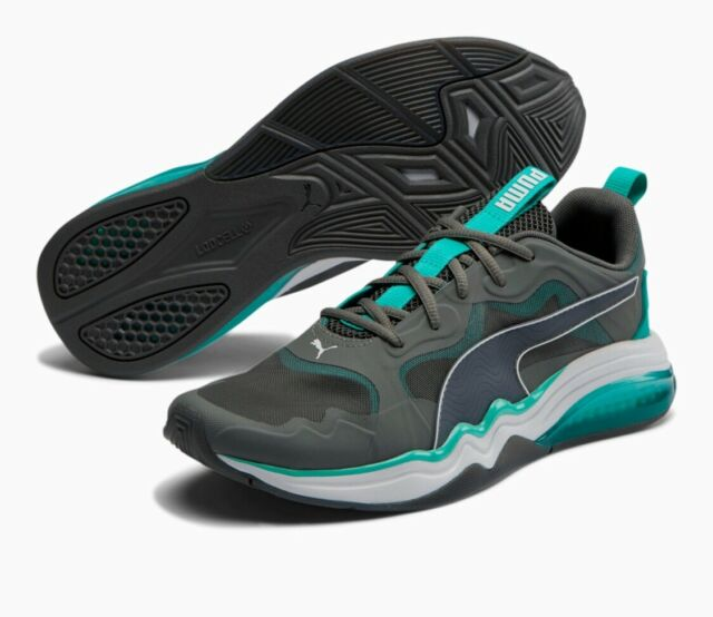 Size 12 - PUMA LQDCELL Tension Rase Castlerock Turquoise for sale ...