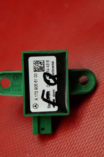 Mercedes Benz w212 C-e-Klasse w218 CLS w172 SLK sensor Crash sensor a1729056100