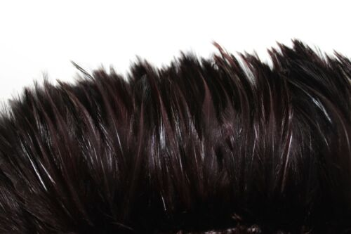 Appx 100 pcs Halloween//Hats//Craft BROWN HACKLE 3/'/' Feather FRINGE Color