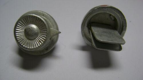 1 Stück 1 x Knopf 91 für Tschako Polizei  aus Alu ,Schutzpolizei-Gendarmerie