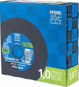 PFERD Trennscheiben Inox 125 x 1,0mm Inoxbox für Edelstahl VA 25 Stück (69120939)