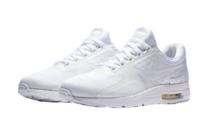 c598c5c4b230 Nike Air Max Zero Essential Mens Shoes Size 10 White Wolf Grey 876070 100
