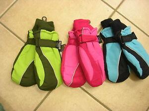 Handschuhe, Fäustlinge, Waterproof,grün, Pink Oder Blau. Neu!! Keine Kostenlosen Kosten Zu Irgendeinem Preis