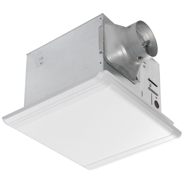 110 CFM Ceiling Mount Quick Connect Bathroom Exhaust Fan ...