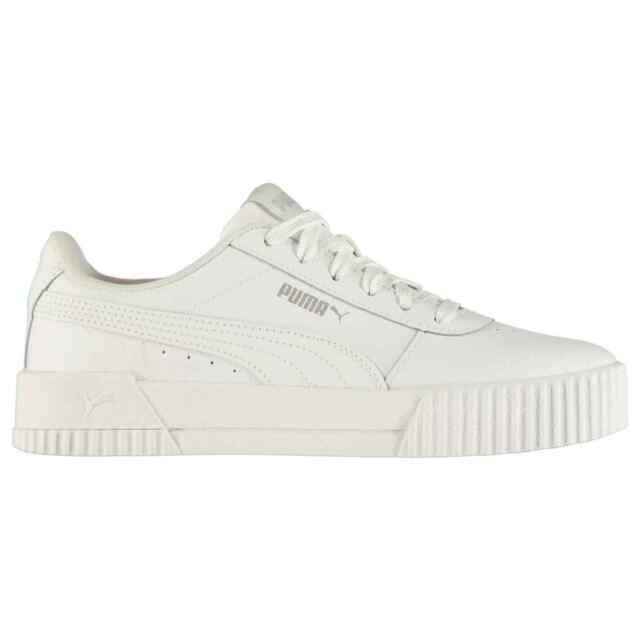 5 UK Puma Platform Slide Bold Womens White White Synthetic Sandals