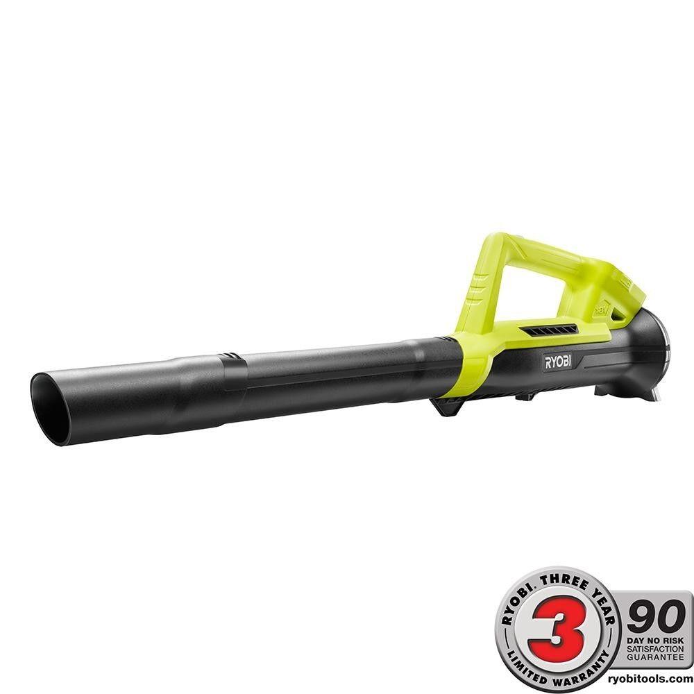 Ryobi Cordless Leaf Blower 18 Volt ONE+ Lithium-Ion 90 MPH 2