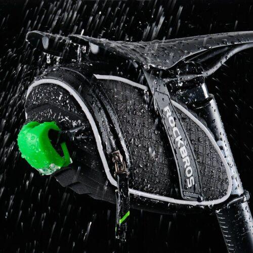 Rockbros Waterproof Cycling Seat Bag 3D Shell Bike Reflective Saddle Bag Pack