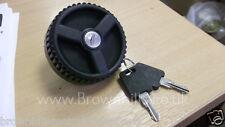 HYMER MOTORHOME & CARAVAN PETROL / DIESEL LOCKING CAP BLACK