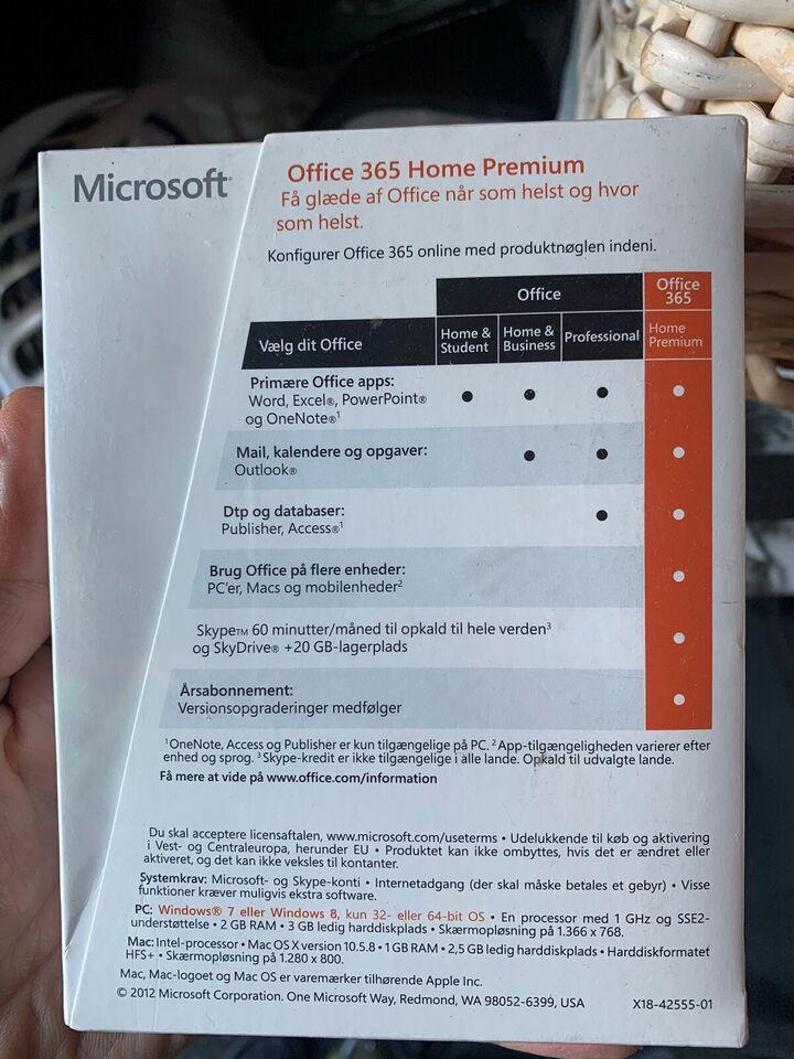 Office 365 Home Premium, Office pakke