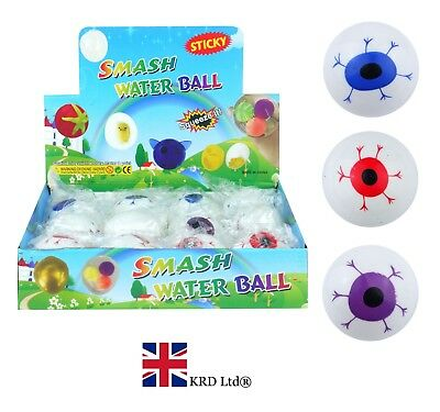 SPLAT EYE Rubber Stress Reliever Ball Egg Toy ADHD Autism ...