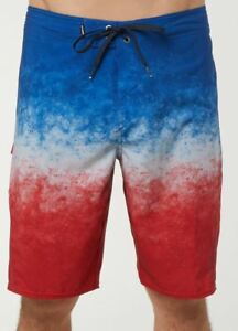 Bademode Kleidung & Accessoires Willensstark O'neill Superfreak Oberfläche Herren Poly Boardshorts 32 Rot-weiß-blau Neu 2018 Erfrischung