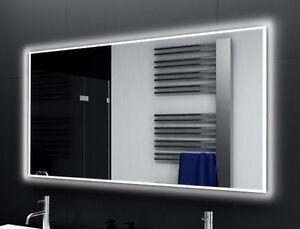 Badspiegel mit LED Beleuchtung Badezimmerspiegel Bad Spiegel ...