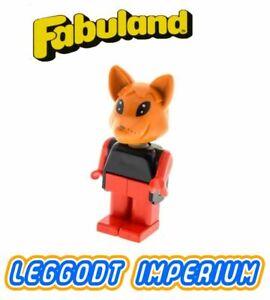 LEGO-Fabuland-Fox-1-rare-minifig-fab5e-FREE-POST