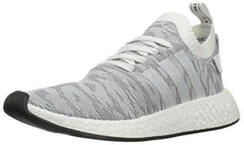 adidas Originals Men's US NMD_R2 PK Sneaker, White/Black, 11 M US Men's afadc0
