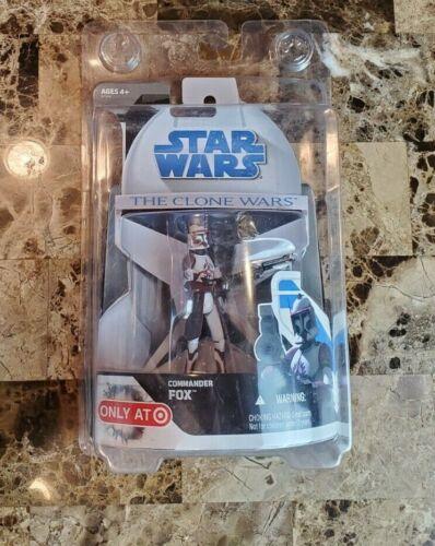 Commander Fox STAR WARS The Clone Wars TCW MOC Target Exclusive