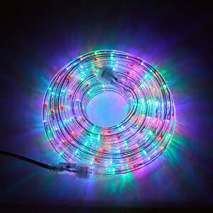 15 foot round pipe rope light led rice light for diwali multi image is loading 15 foot round pipe rope light led rice aloadofball Choice Image