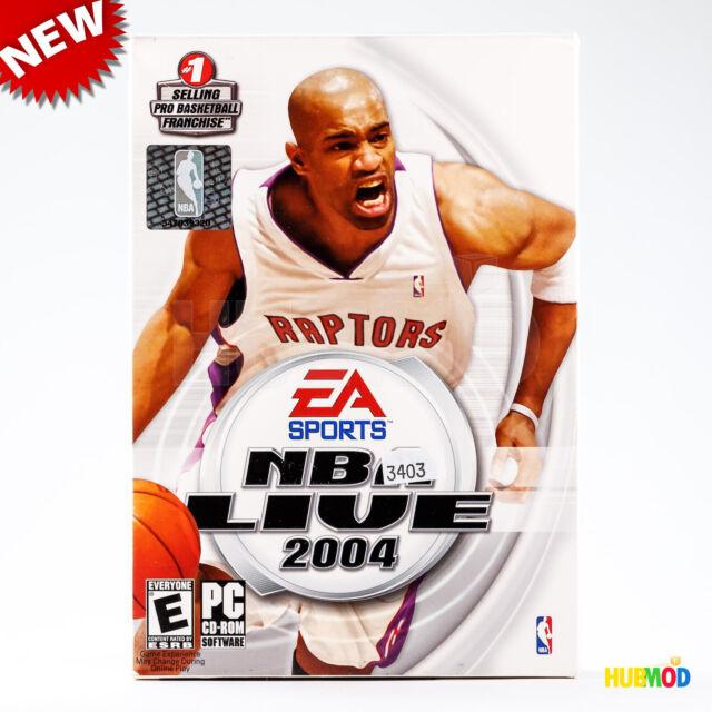 NEU EA Sports NBA live 2004 Pro Basketball PC Spiel Software