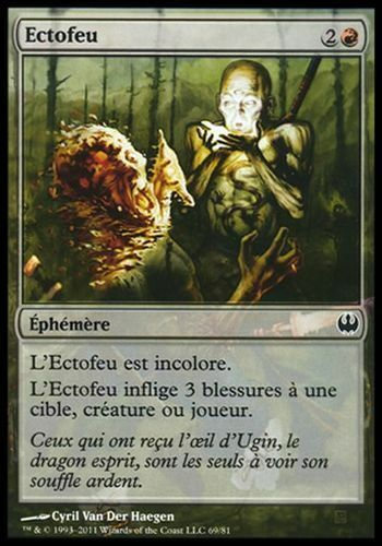KvD #69 FRENCH Magic ▼▲▼2x Ectofeu Ghostfire