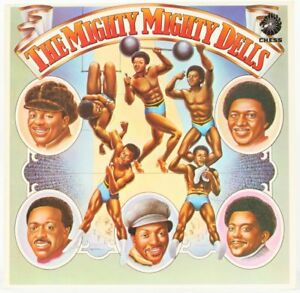 The-Dells-The-Mighty-Mighty-Dells-Vinyl-Record-LP-USED