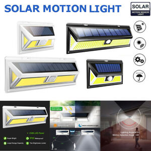 180-COB-LED-Outdoor-Solar-Powered-Light-Motion-Sensor-Security-Wall-Lights