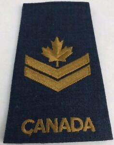 Details about CANADA AIR FORCE MASTER CORPORAL EPAULETTE