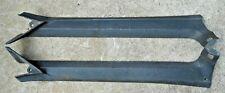 Set Of 1969 1970 Ford Mustang Mercury Cougar Black A Pillar Inner Trim Molding