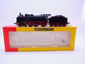 LOT-61517-Fleischmann-H0-4160-Dampflok-mit-Tender-BR-38-der-DR-in-OVP