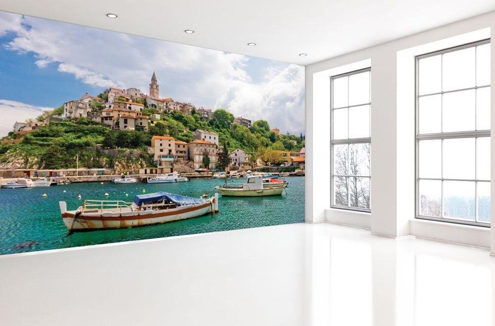 3D Tropisch Ferienvilla 73 Tapete Wandgemälde Tapete Tapeten Bild Familie DE