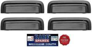 HOLDEN-COMMODORE-VB-VC-VH-VK-VL-4-X-OUTER-DOOR-HANDLES-FRONT-AND-REAR-BLACK