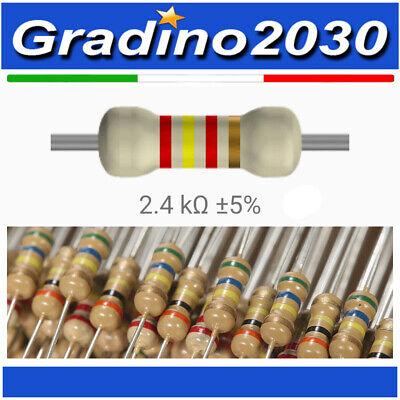 Kit 25 pz resistenze 68 ohm 1//4W 5/%