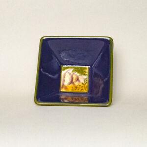 Vintage Vistas Square Nut Bowl | eBay