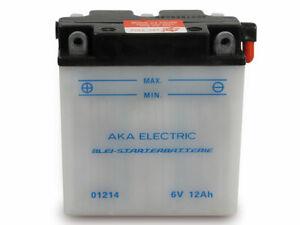 Batterie 6V 12Ah für Simson S50 S51 S70 SR50 MZ ES150 und TS150 und IWL Troll
