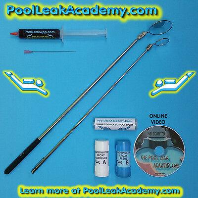 Swimming Pool Leak Detection Dye Test Syringe Kit With