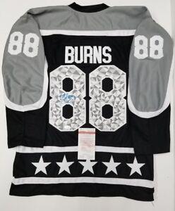 5acd8689f BRENT BURNS Signed SJ Sharks 2017 NHL Custom All-Star Jersey SZ 54 ...