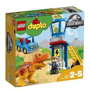 LEGO-DUPLO-Jurassic-World-Set-Mattoncini-la-Torre-del-T-Rex-10880-New